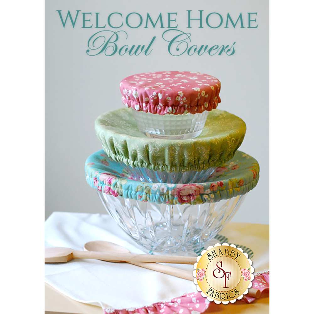 Welcome Home - Bowl Cover Pattern - ANY SIZE!