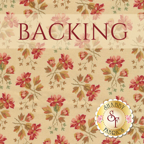 Welcome Home in Autumn BOM - Backing - 3.5yds