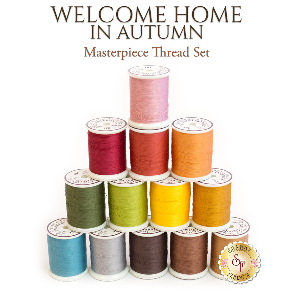 Welcome Home In Autumn BOM - 13pc MasterPiece Thread Set