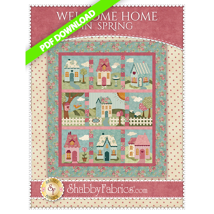 Welcome Home In Spring - Pattern PDF DOWNLOAD