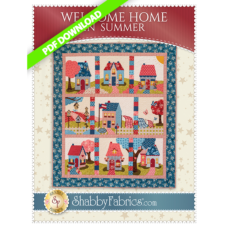 Welcome Home In Summer - Pattern PDF DOWNLOAD