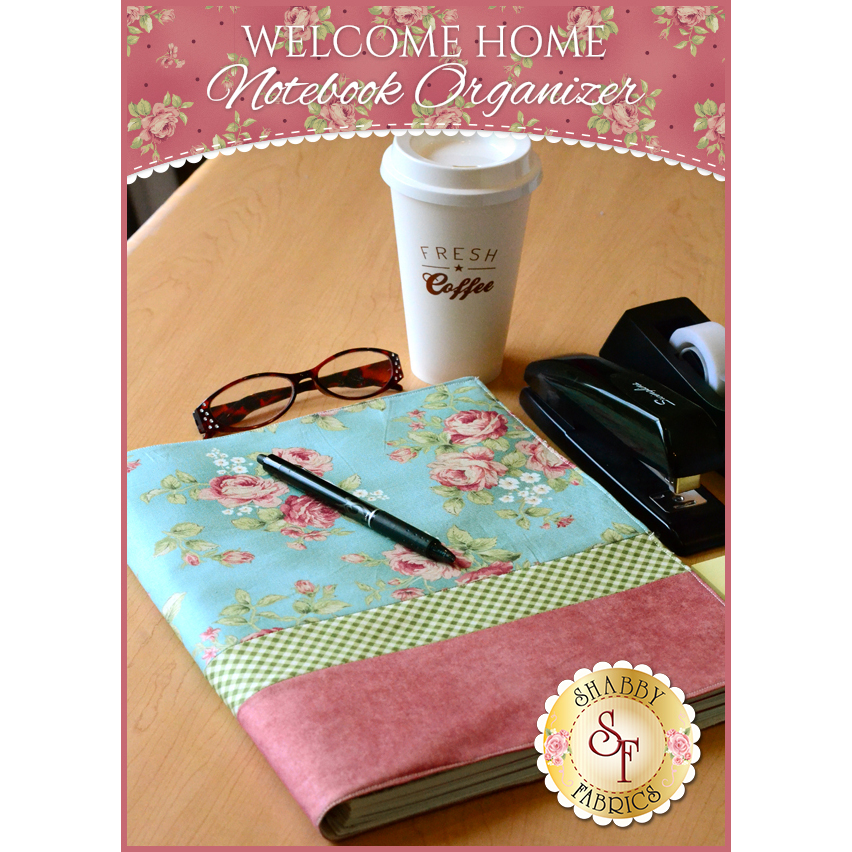 Welcome Home Notebook Organizer Pattern