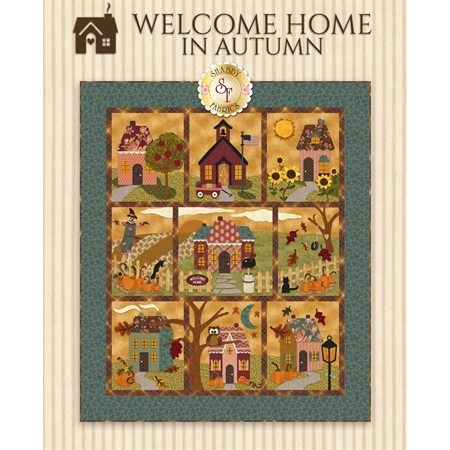 Welcome Home in Autumn - Pattern