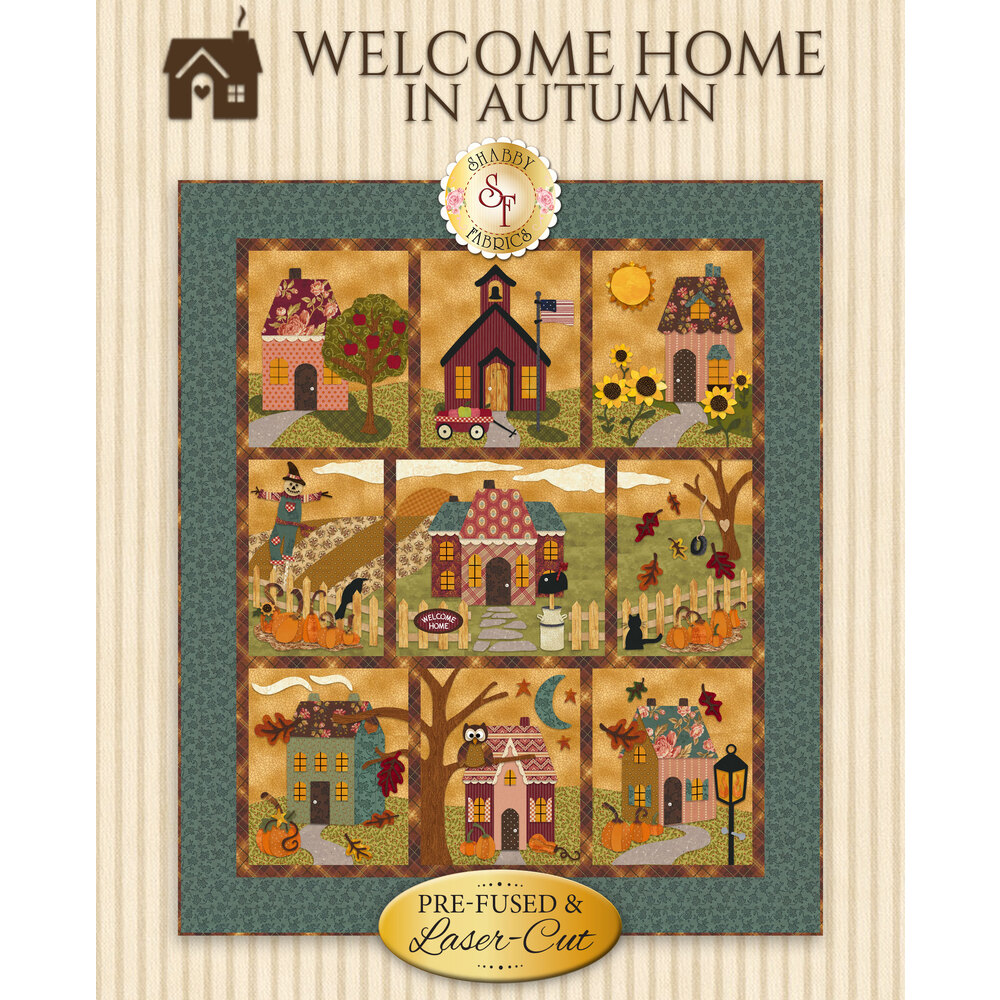 Welcome Home In Autumn BOM - Pre-Fused & Laser-Cut