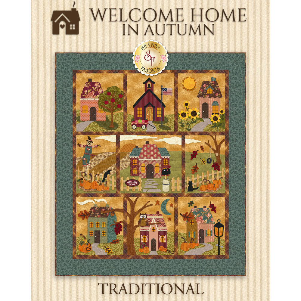 Welcome Home In Autumn BOM - Traditional