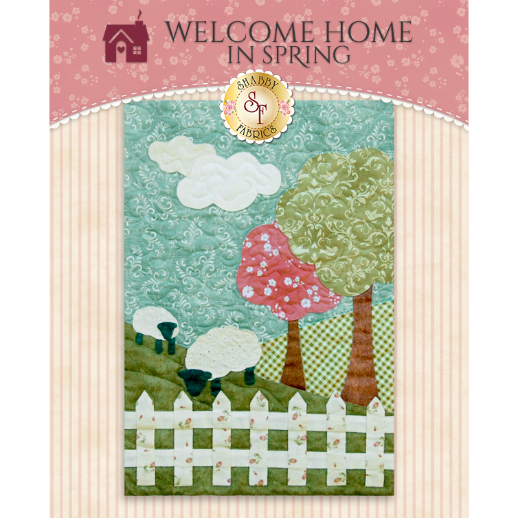 Welcome Home in Spring - Laser Cut - Block 6