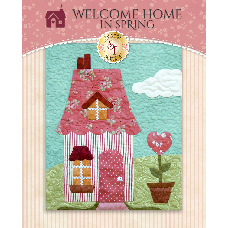 Welcome Home In Spring BOM - Traditional - Block 7