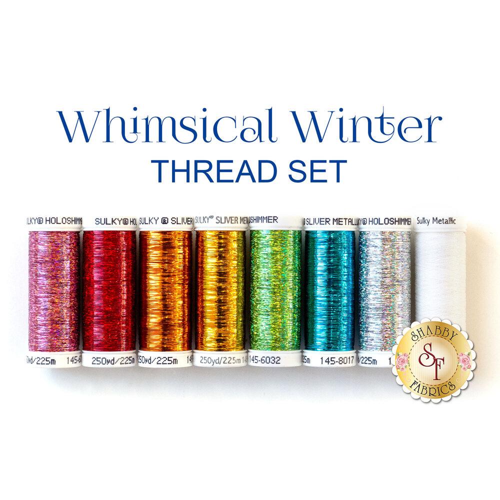 Whimsical Winter - 8 pc Thread Set