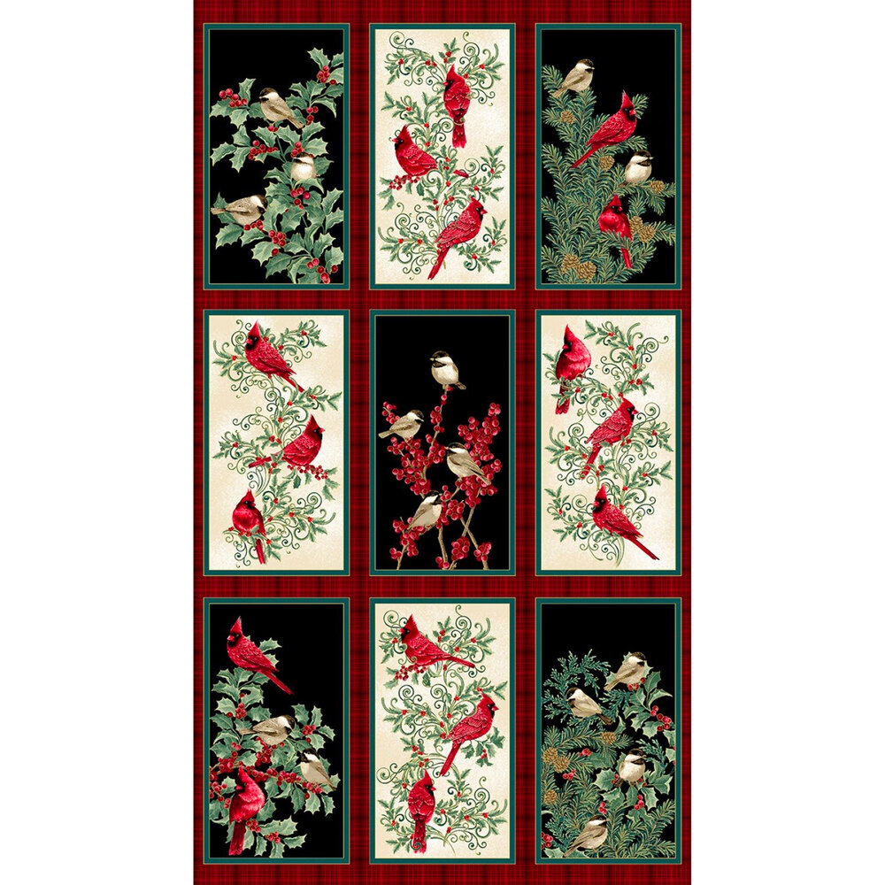The Bird Winter Elegance panel