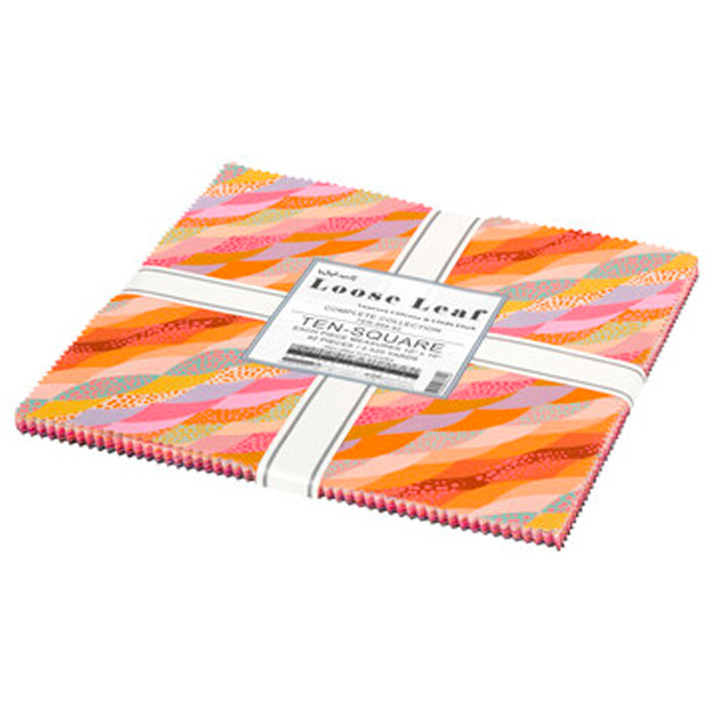 "Wishwell: Loose Leaf 10"" squares on a white background"