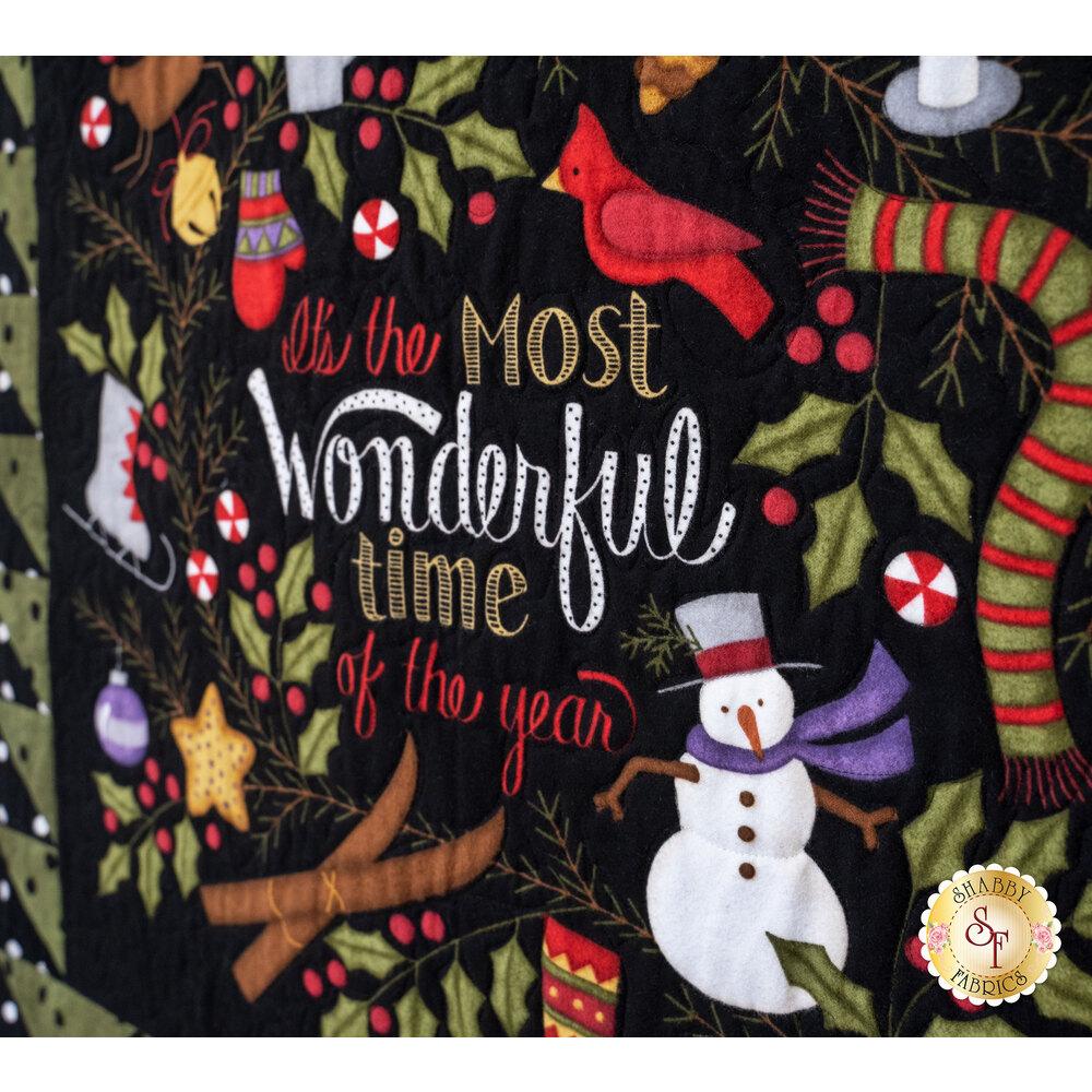 Wonderful Time Flannel Quilt Kit - RESERVE