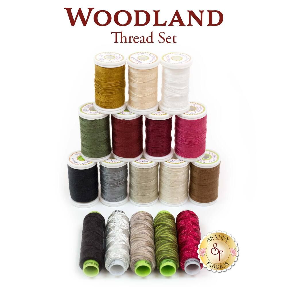 Woodland Thread Set - 17pc Thread Set