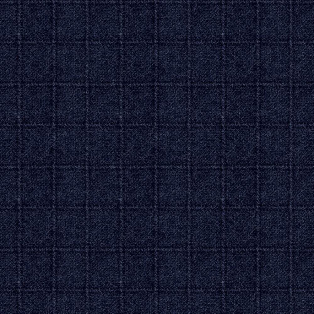 Tonal navy square print | Shabby Fabrics