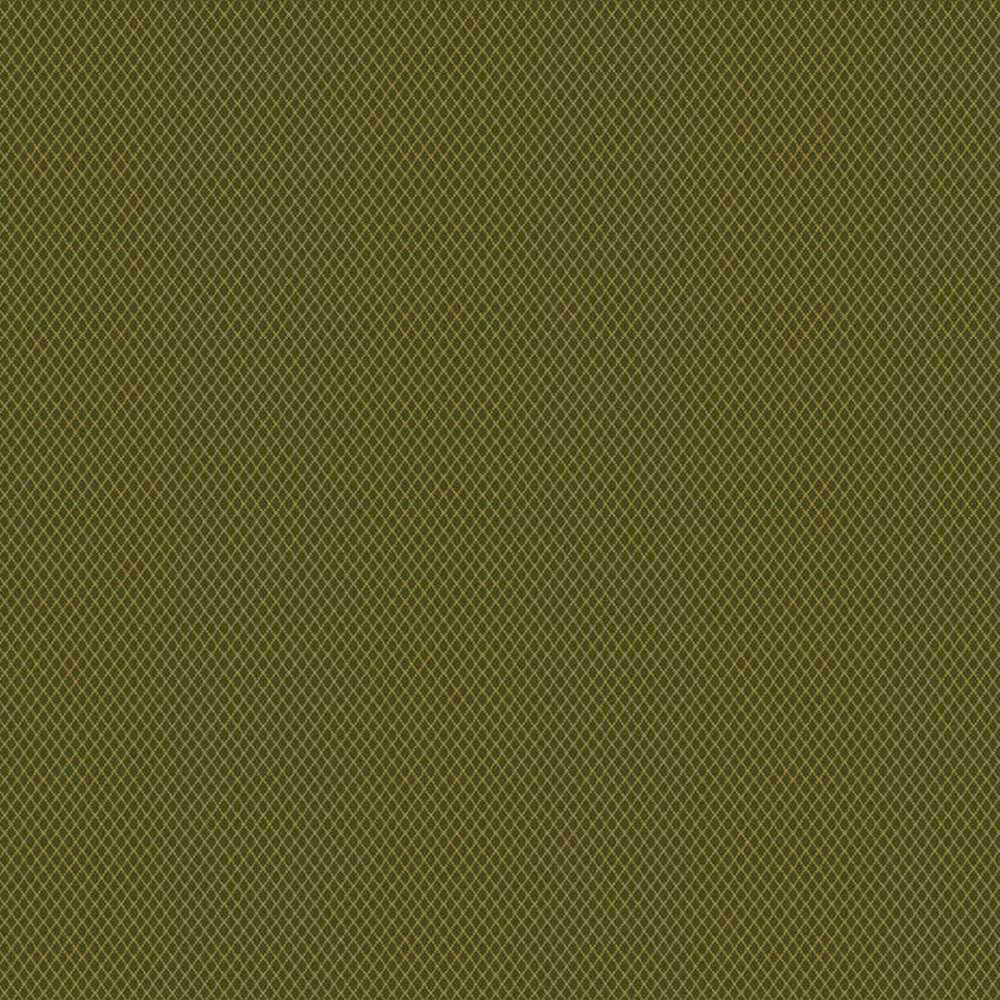 Tonal dark green diamond flannel | Shabby Fabrics