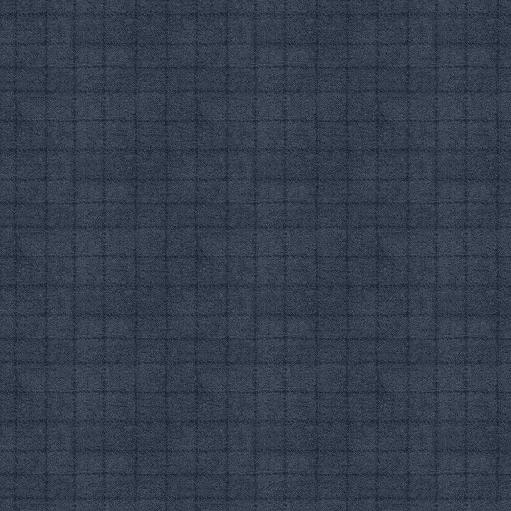 Tonal navy small square print | Shabby Fabrics