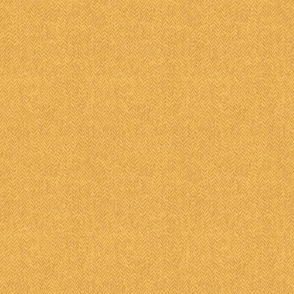 Tonal yellow herringbone print | Shabby Fabrics