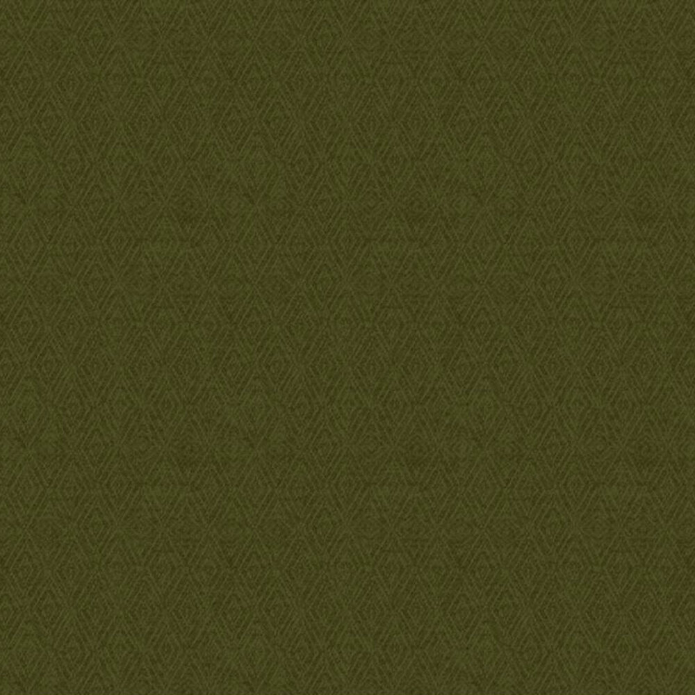 Tonal dark green diamond flannel   Shabby Fabrics