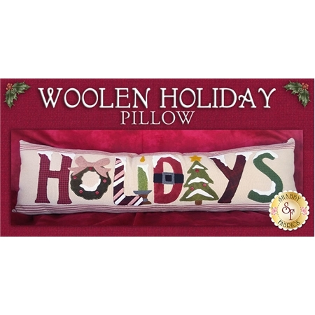 Woolen Holiday Pillow Kit - INCLUDES WOOL!