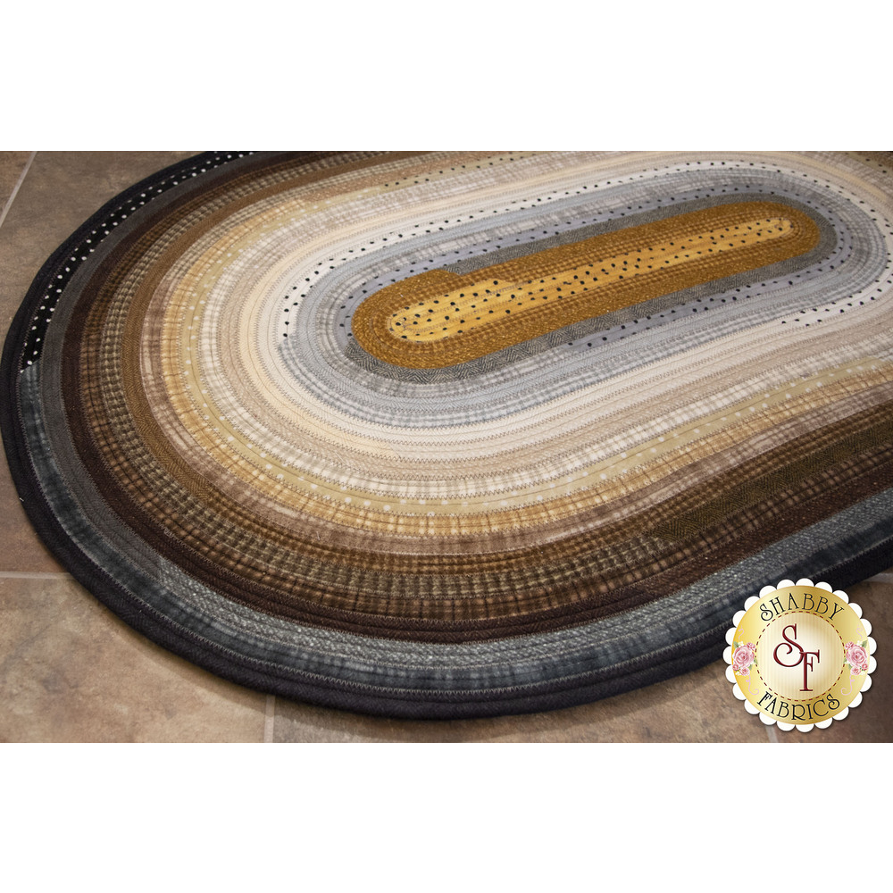 Jelly Roll Rug Kit - Woolies Flannel Neutral