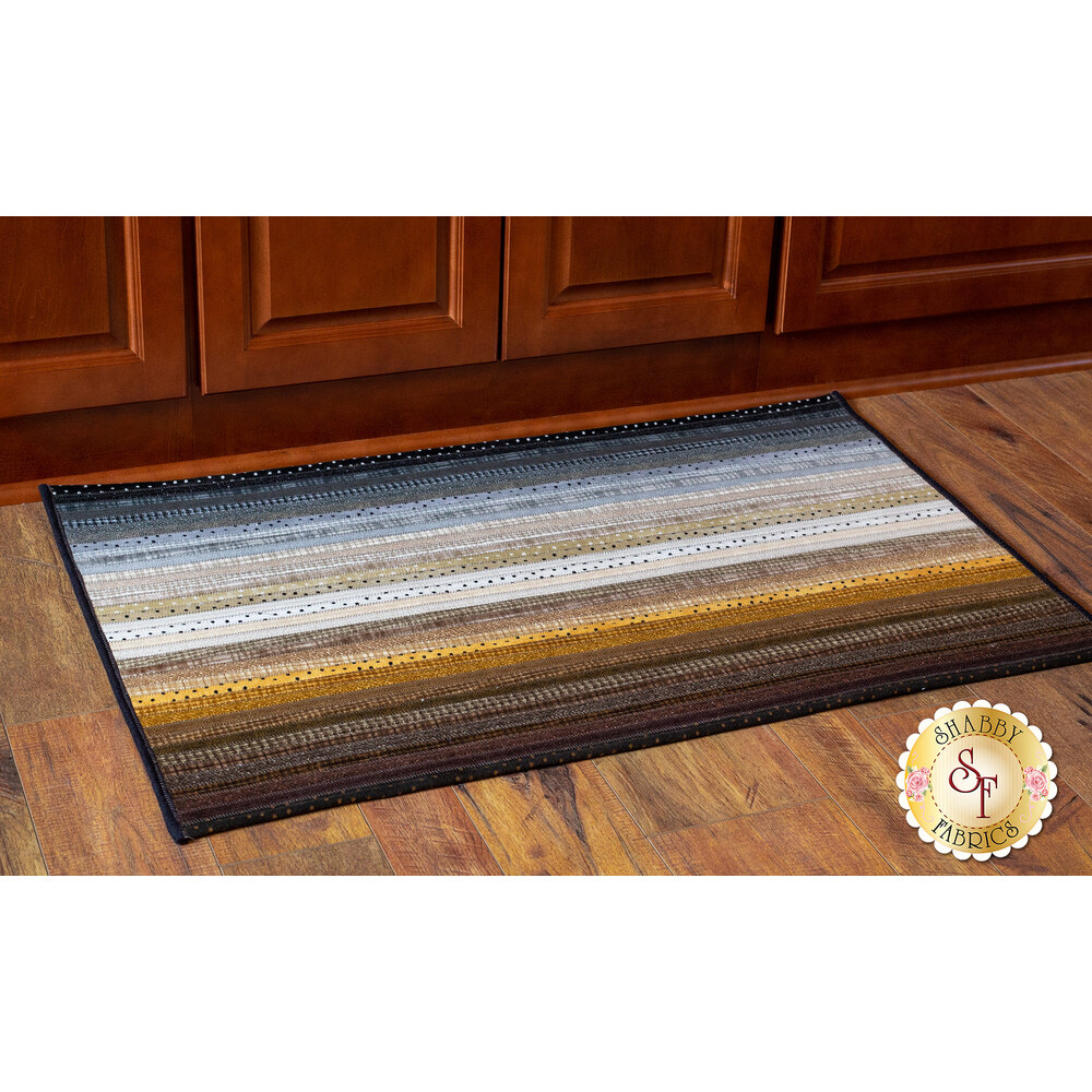 Jelly Roll Rug 2 Kit - Woolies Flannel Neutral