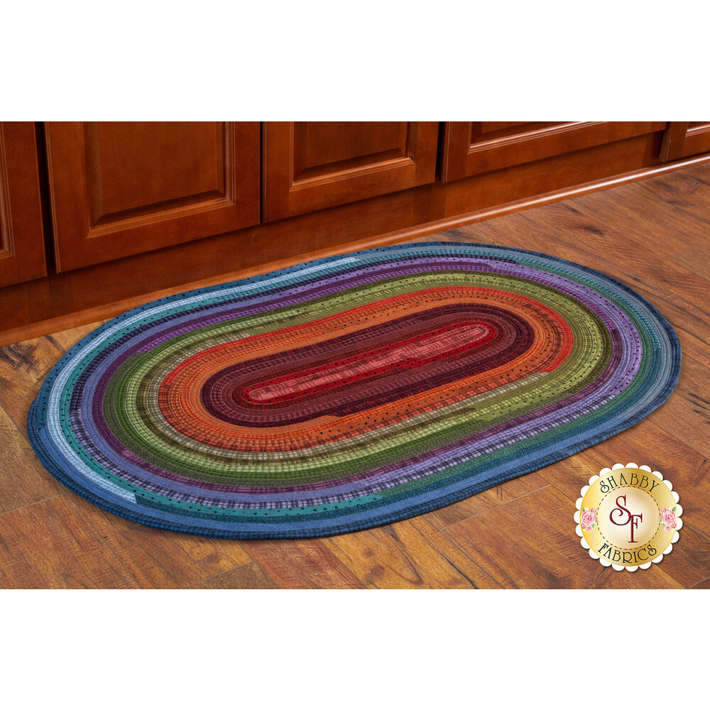 Jelly Roll Rug Kit - Woolies Flannel Colors