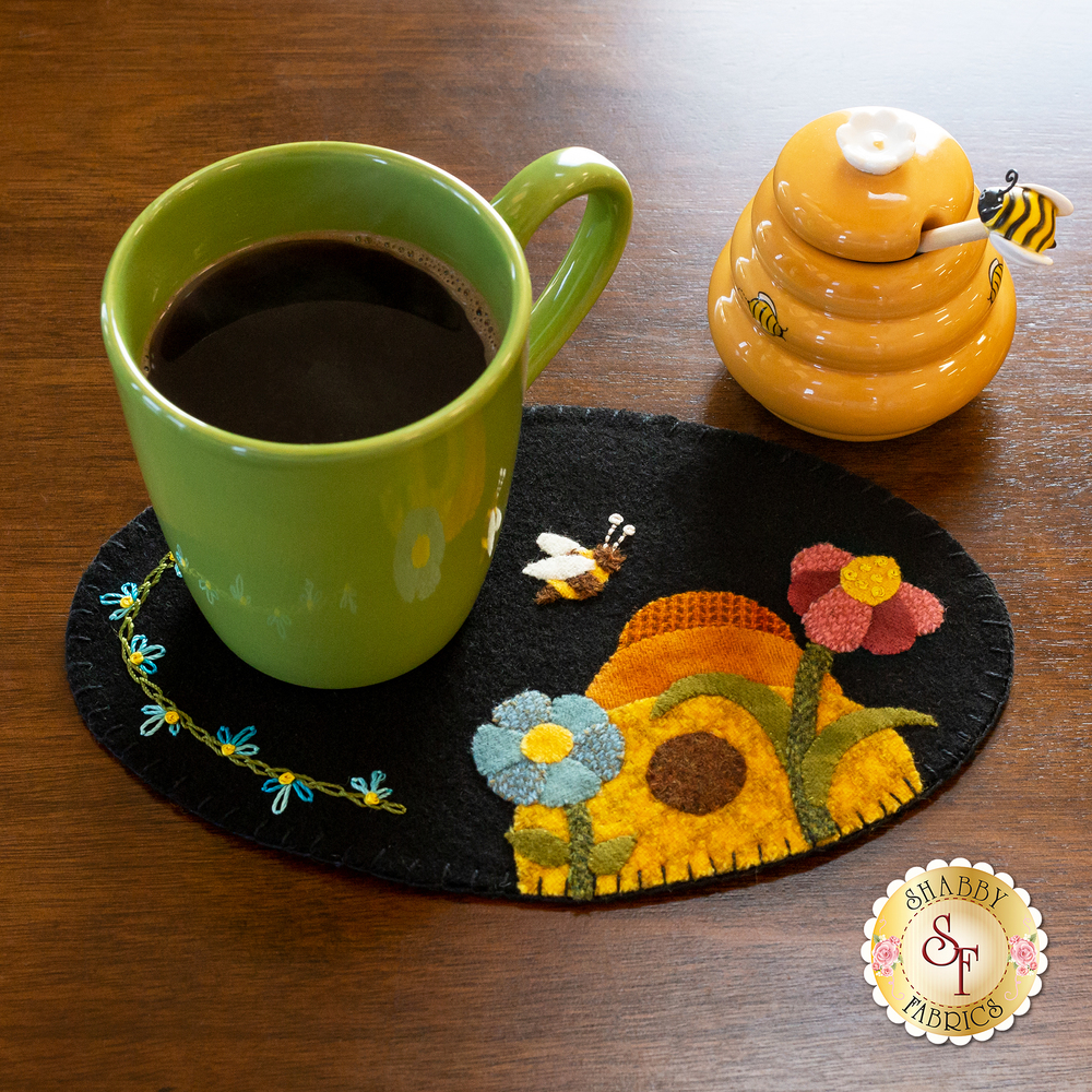 Wooly Mug Mat Series - June - Wool Kit