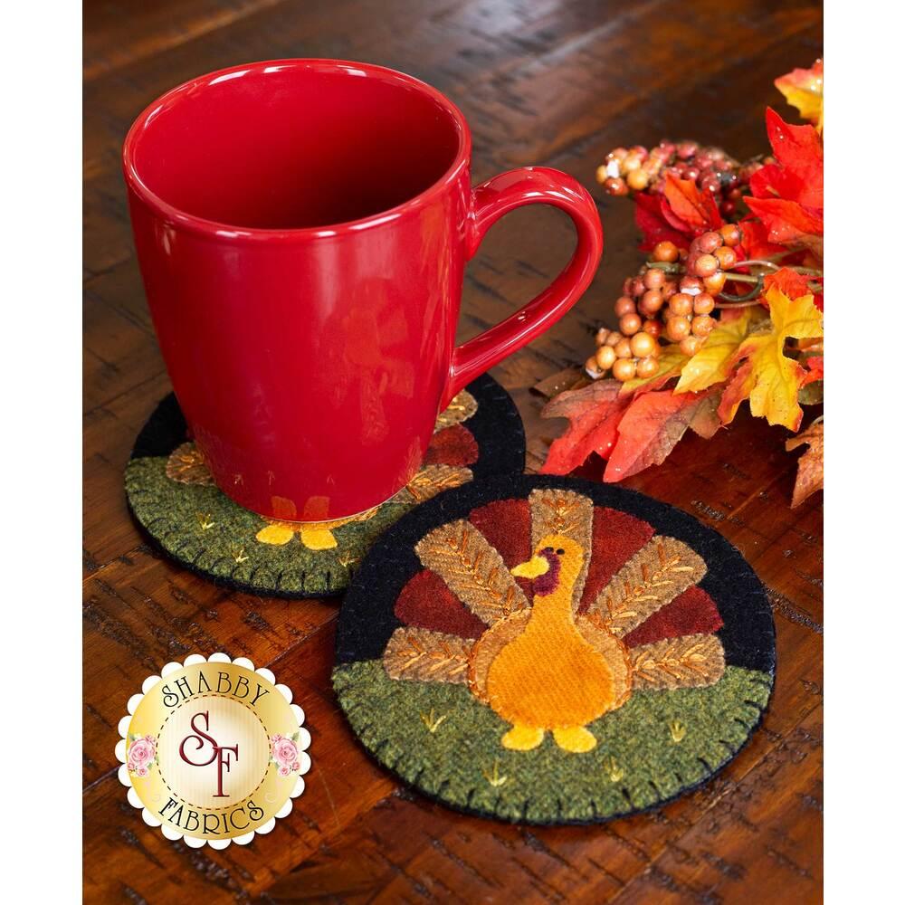 Wooly Mug Rug Series - November - Kit (makes 2)