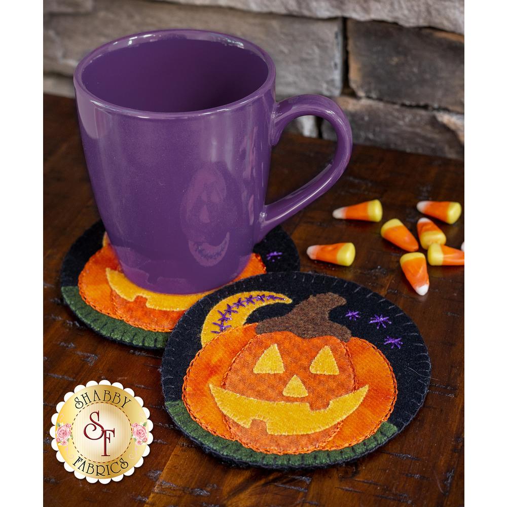 Wooly Mug Rug Series - October - Kit (makes 2)