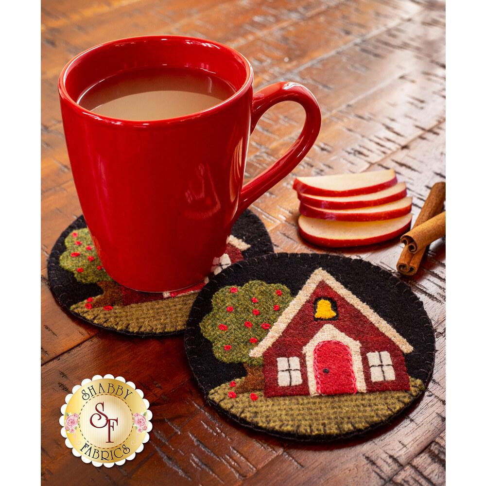 Wooly Mug Rug Series - September Kit - Makes 2