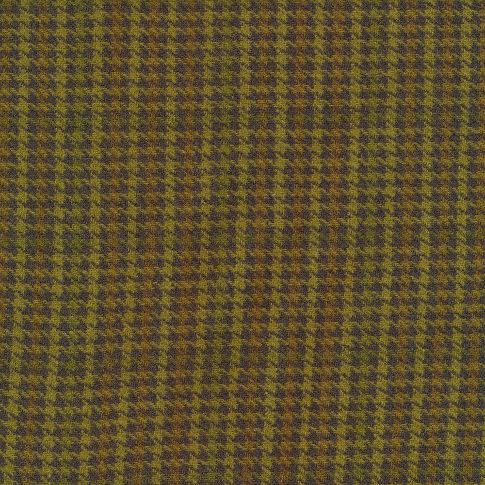 Green plaid wool | Shabby Fabrics