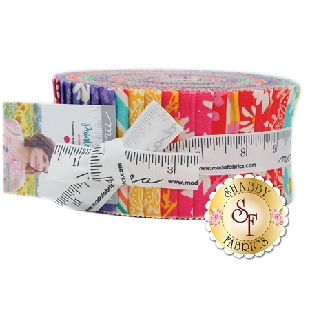 Painted Garden  Jelly Roll by Moda Fabrics