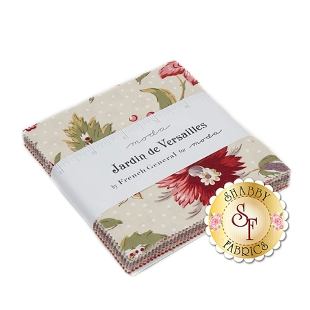 Jardin de Versailles  Charm Pack by French General for Moda Fabrics