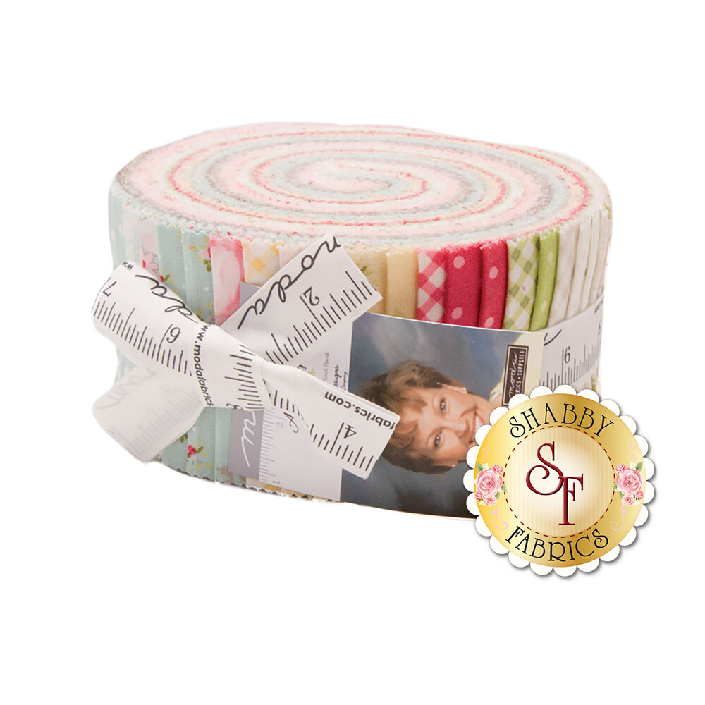 Amberly Jelly Roll by Brenda Riddle for Moda Fabrics