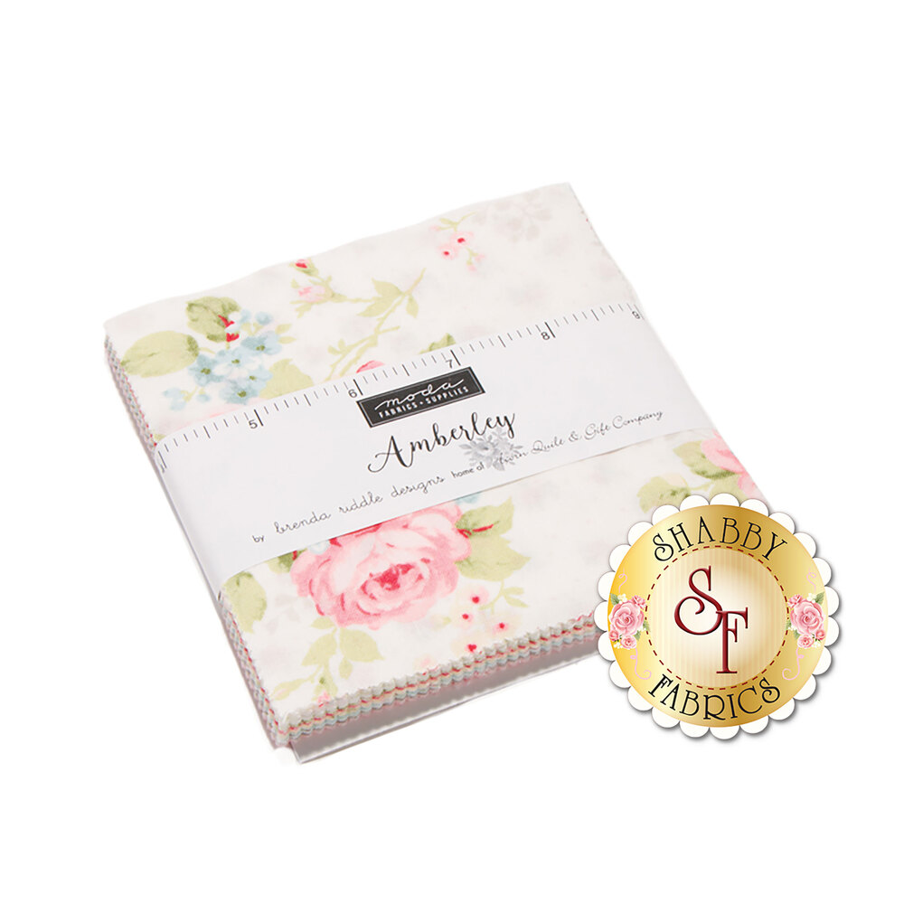 Amberly  Charm Pack by Brenda Riddle for Moda Fabrics