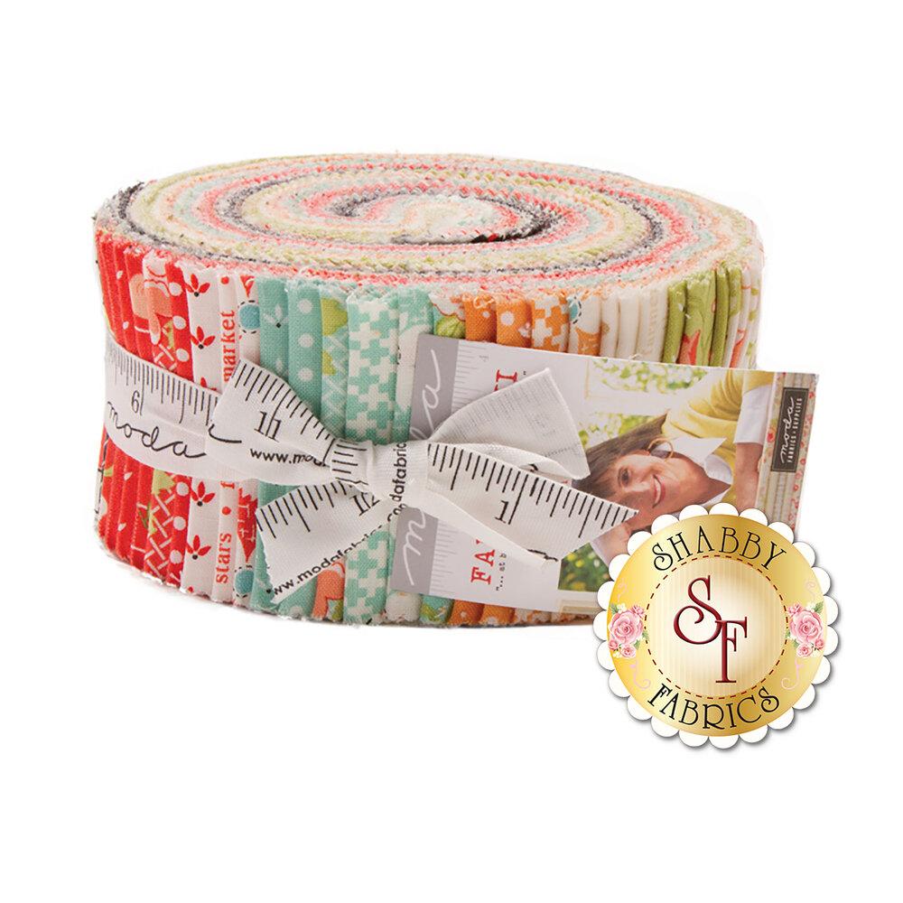 Farmhouse II  Jelly Roll  by Fig Tree & Co. for Moda Fabrics