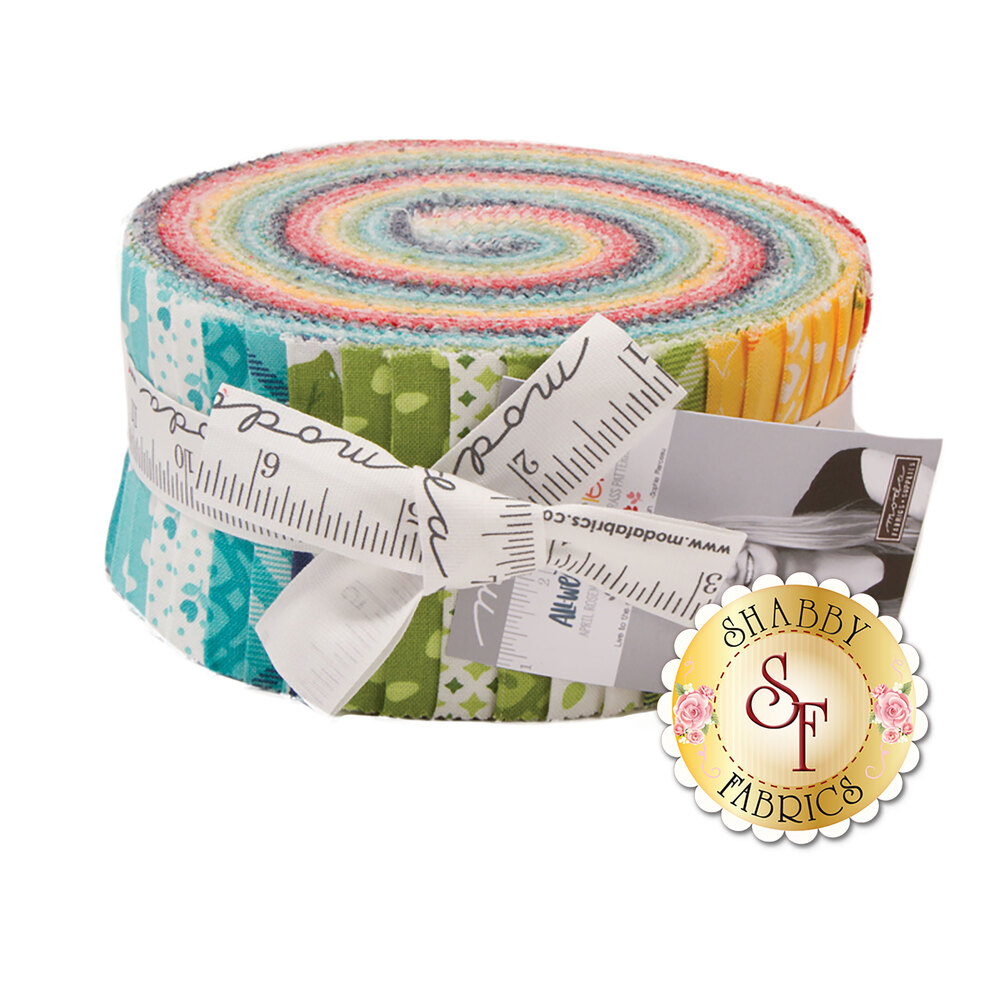 All Weather Friend Jelly Roll by April Rosenthal for Moda Fabrics