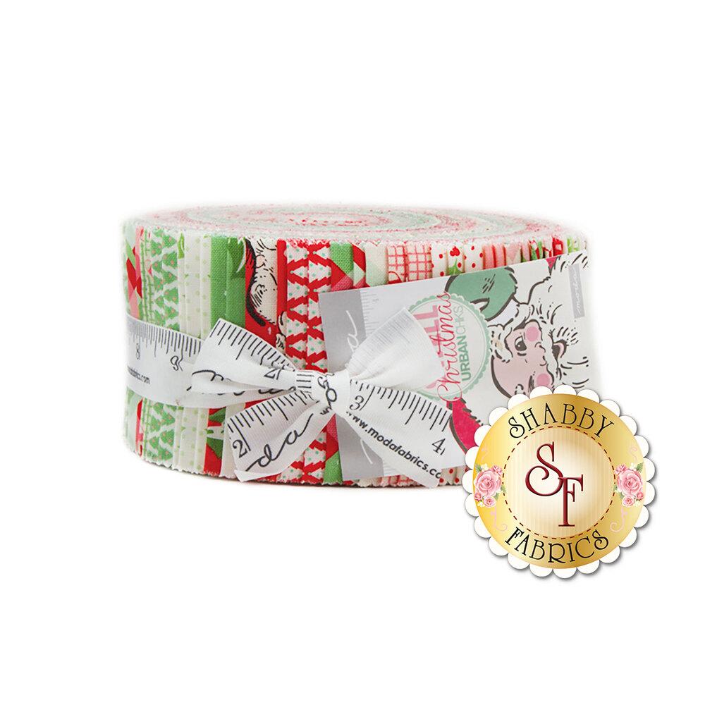 Swell Christmas Jelly Roll | Shabby Fabrics