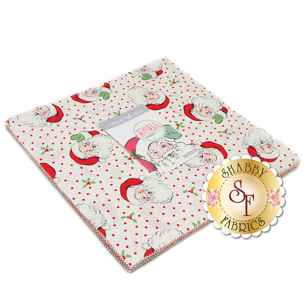 Swell Christmas  Layer Cake by Urban Chiks for Moda Fabrics