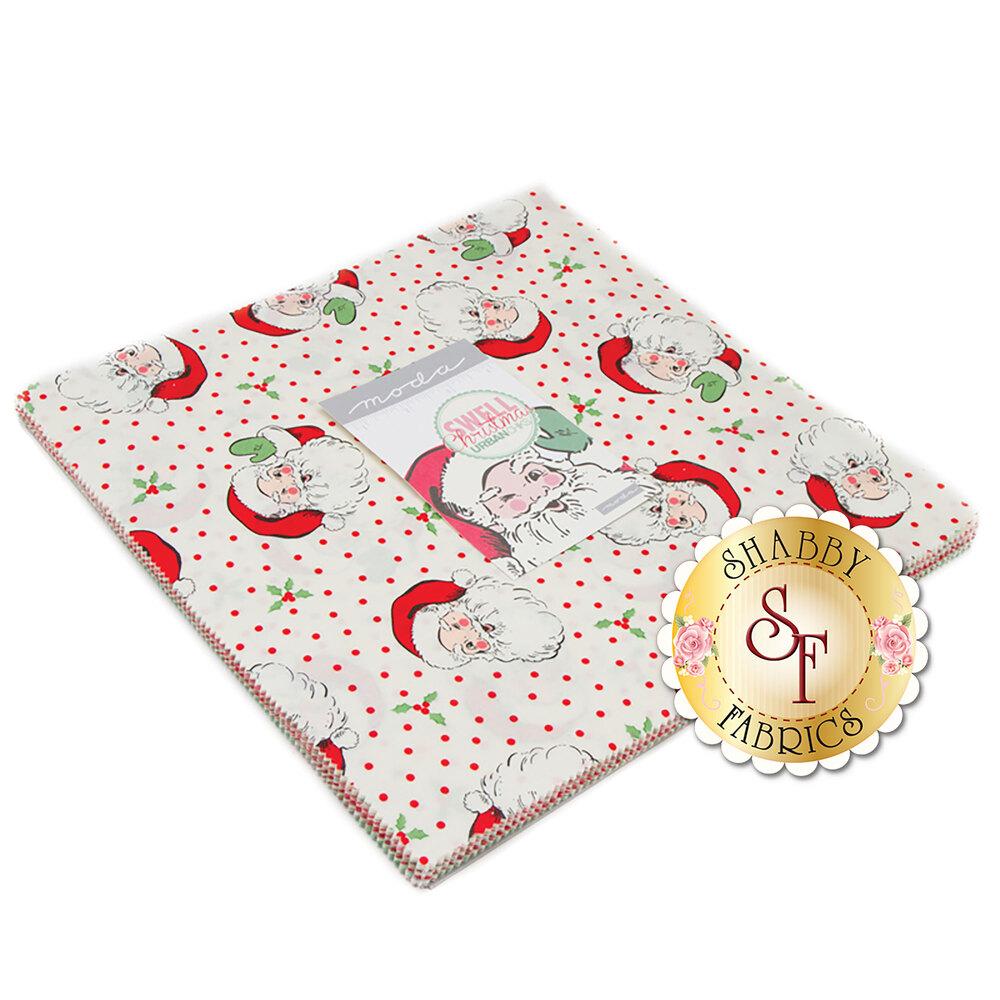 Swell Christmas Layer Cake | Shabby Fabrics