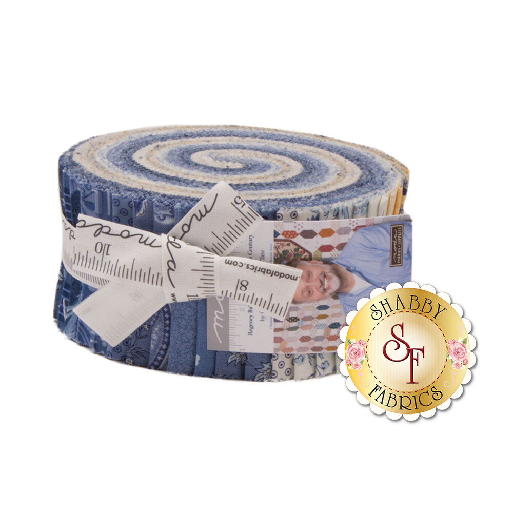 Regency Ballycastle Chintz  Jelly Roll by Christopher Wilson-Tate for Moda Fabrics