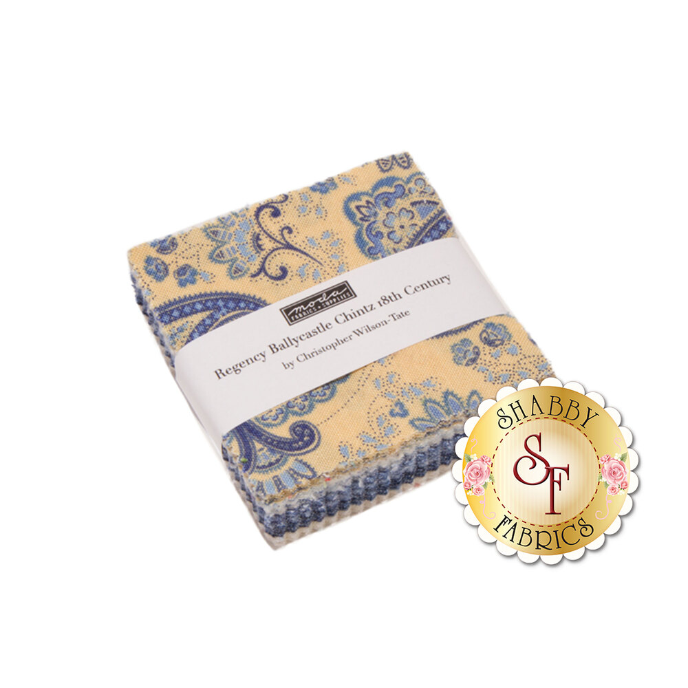 Regency Ballycastle Chintz  Mini Charm Pack by Christopher Wilson-Tate for Moda Fabrics