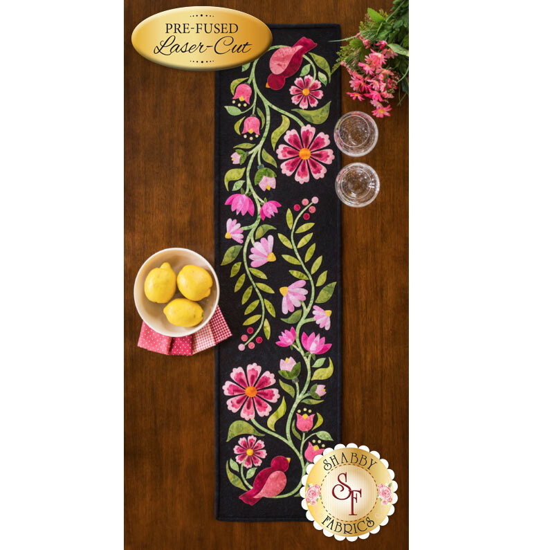 Baltimore Garden Table Runner - Rose - Laser-Cut Kit