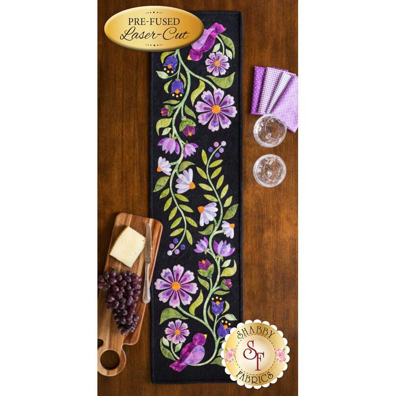 Baltimore Garden Table Runner - Violet - Laser-Cut Kit
