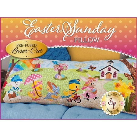 Easter Sunday Series Pillow Kit - Pre-Fused/Laser-Cut
