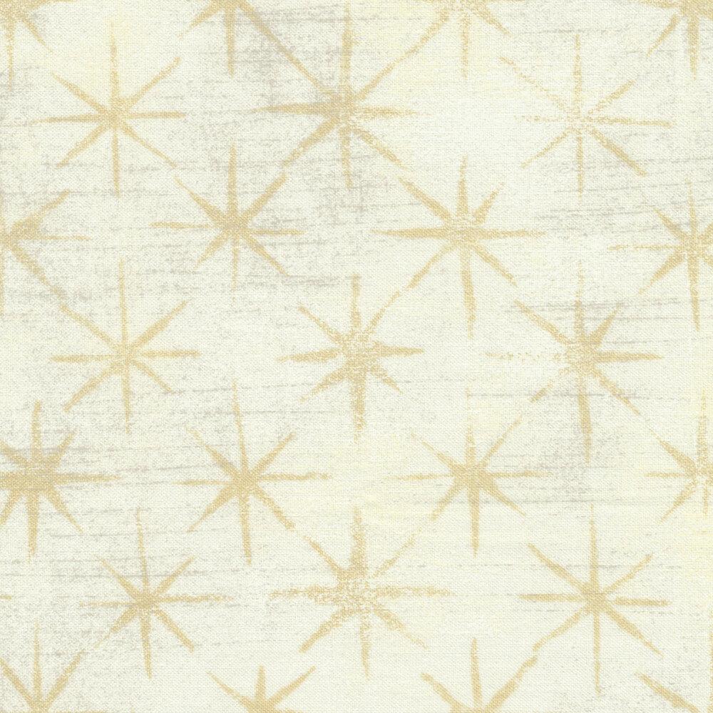 Grunge Seeing Stars 30148-12 Vanilla by BasicGrey for Moda Fabrics