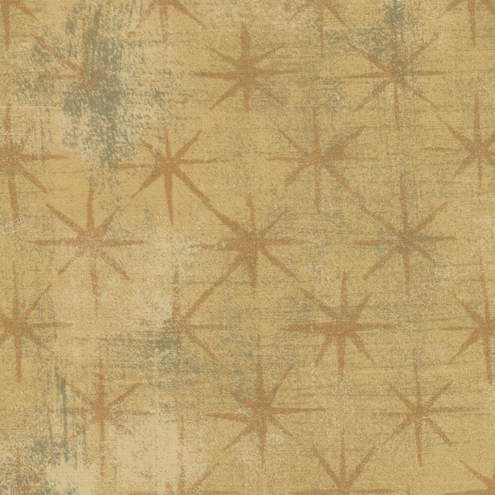 Grunge Seeing Stars 30148-16 Tan by BasicGrey for Moda Fabrics