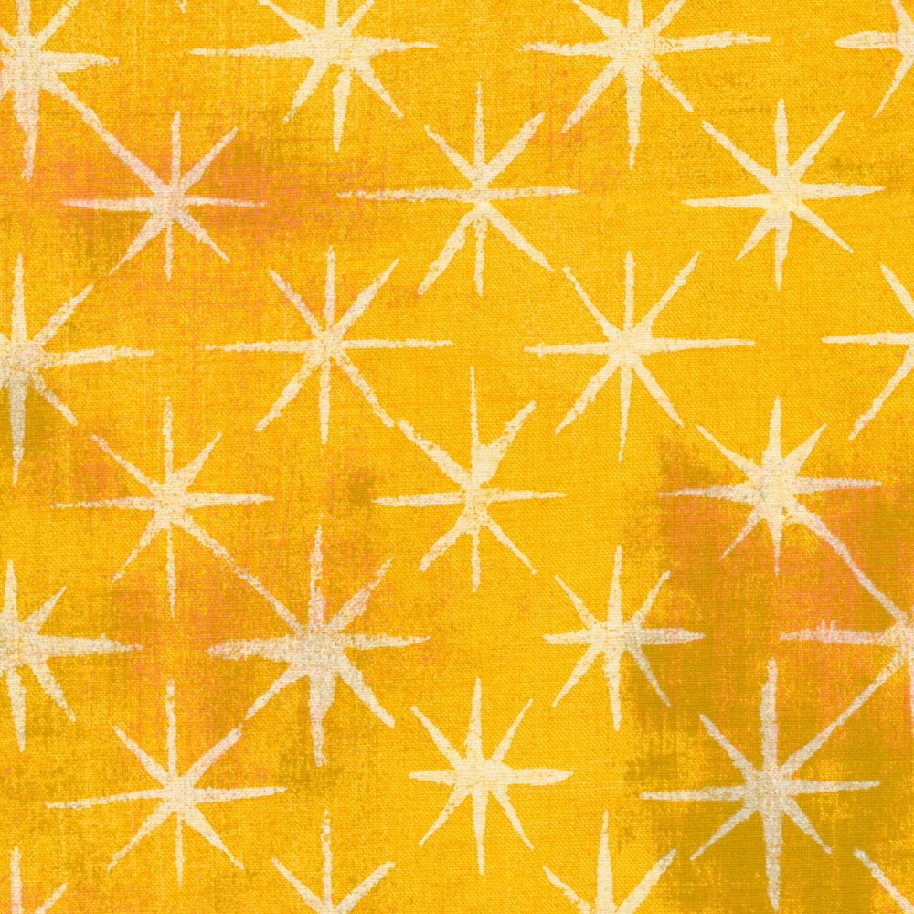 Grunge Seeing Stars 30148-20 Sunflower by BasicGrey for Moda Fabrics