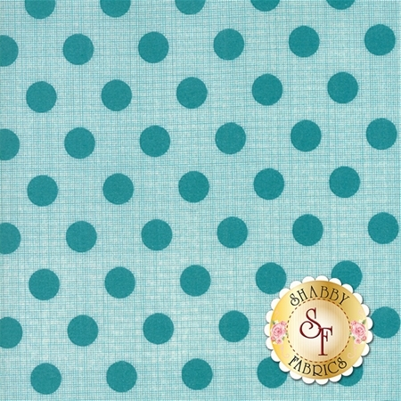Circulus 18131-16 Lagoon by Jen Kingwell for Moda Fabrics