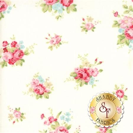 Caroline 18650-11 Linen White by Brenda Riddle for Moda Fabrics