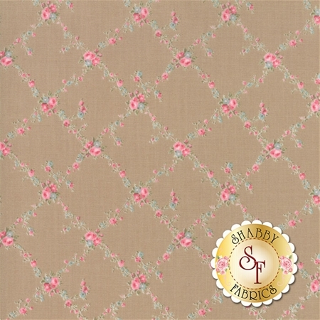 Caroline 18651-16 Oatmeal by Brenda Riddle for Moda Fabrics